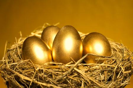 お金持ちになるための貯金法 goldeneggs